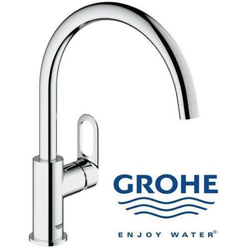 GROHE BauLoop Kitchen Sink Swivel Mixer Tap - 31368000 for sale online eBay