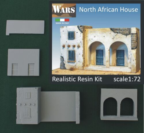 WARS Casa nord africana//north african house 1//72