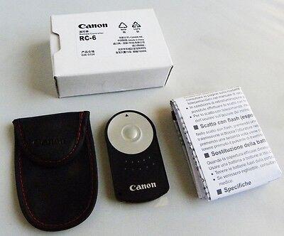 Canon RC-6 Wireless Remote Control EOS-M 5D 6D 7D 60D T5i T4i T3i 700D 650D 600D