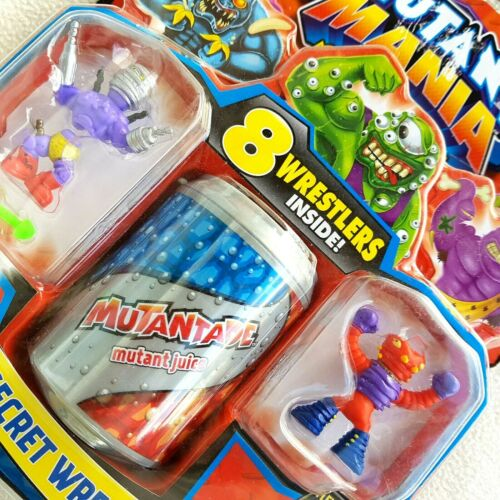 6 SECRET MADE IN AUSTRALIA VTG 2011 BNIB ROUND 1 MUTANT MANIA: 8 WRESTLERS