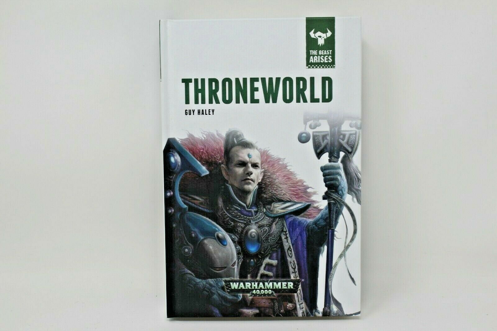 Warhammer Novel Throneworld The Beast Arises Hard Cover