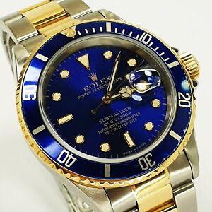 Rolex Submariner Ref: 16613 stahl/ gold - L serie