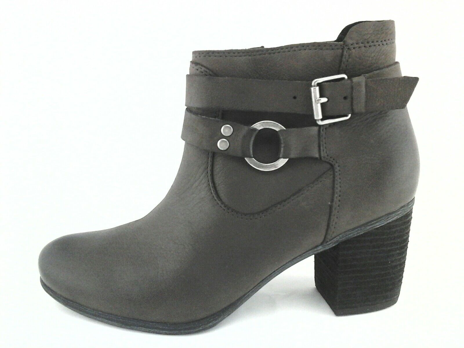 JOSEF SEIBEL Ankle Boots Brown BRITNEY Leather Bootie Womens US 7-7.5 EU 38  175