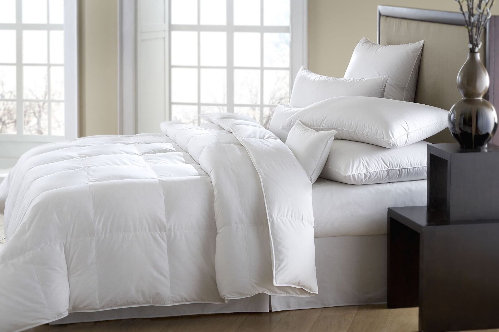 The ULTIMATE Down Alternative Comforter Duvet Insert Washable TWIN QUEEN KING