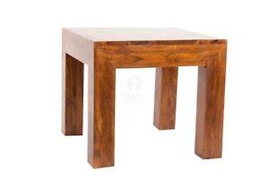 Tavolini Bassi Da Salotto Etnici.Dettagli Su Tavolino Salotto Tavolo In Legno Stile Etnico Tavolino Basso Tavolino Caffe