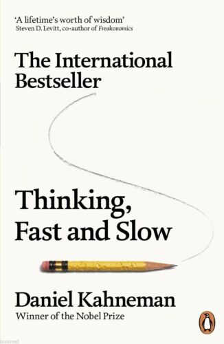 1 of 1 - Thinking, Fast and Slow by Daniel Kahneman (New Paperback Book)