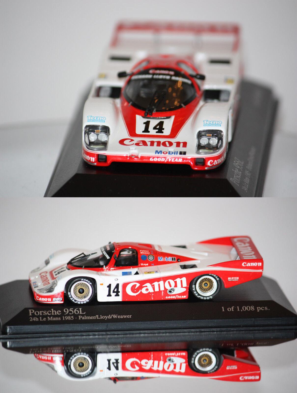 Mini Champs Porsche 956l nº 14 24h Lemans 1985 1 43 430856514
