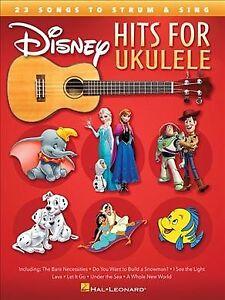 Disney-Hits-for-Ukulele-25-Songs-to-Strum-amp-Sing-Paperback-by-Hal-Leonard