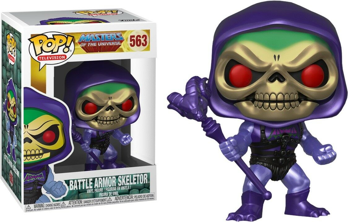 Battle Armor Skeletor Metallic Pop  - Masters Of The Universe. Limited Rare