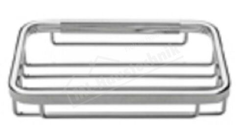 Seifenkorb geschlossene Form verchromt 102157 Korb 135x90 mm