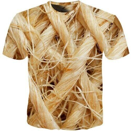 Fashion 3D Print Funny Animal Fur Women Men Casual T-Shirt Short Sleeve Tee Tops