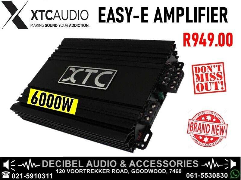XTC EASY-E 6000W 4-CHANNEL AMPLIFIER