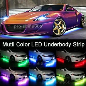 Mutli Color Under Glow Underbody System Zone Neon LED Strips