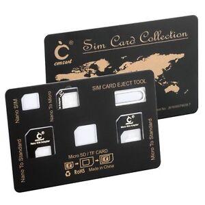 Sim Karte Für Tablet.Details Zu Sim Karte Card Adapter Set Im Scheckkartenformat Für Smartphone Und Tablet