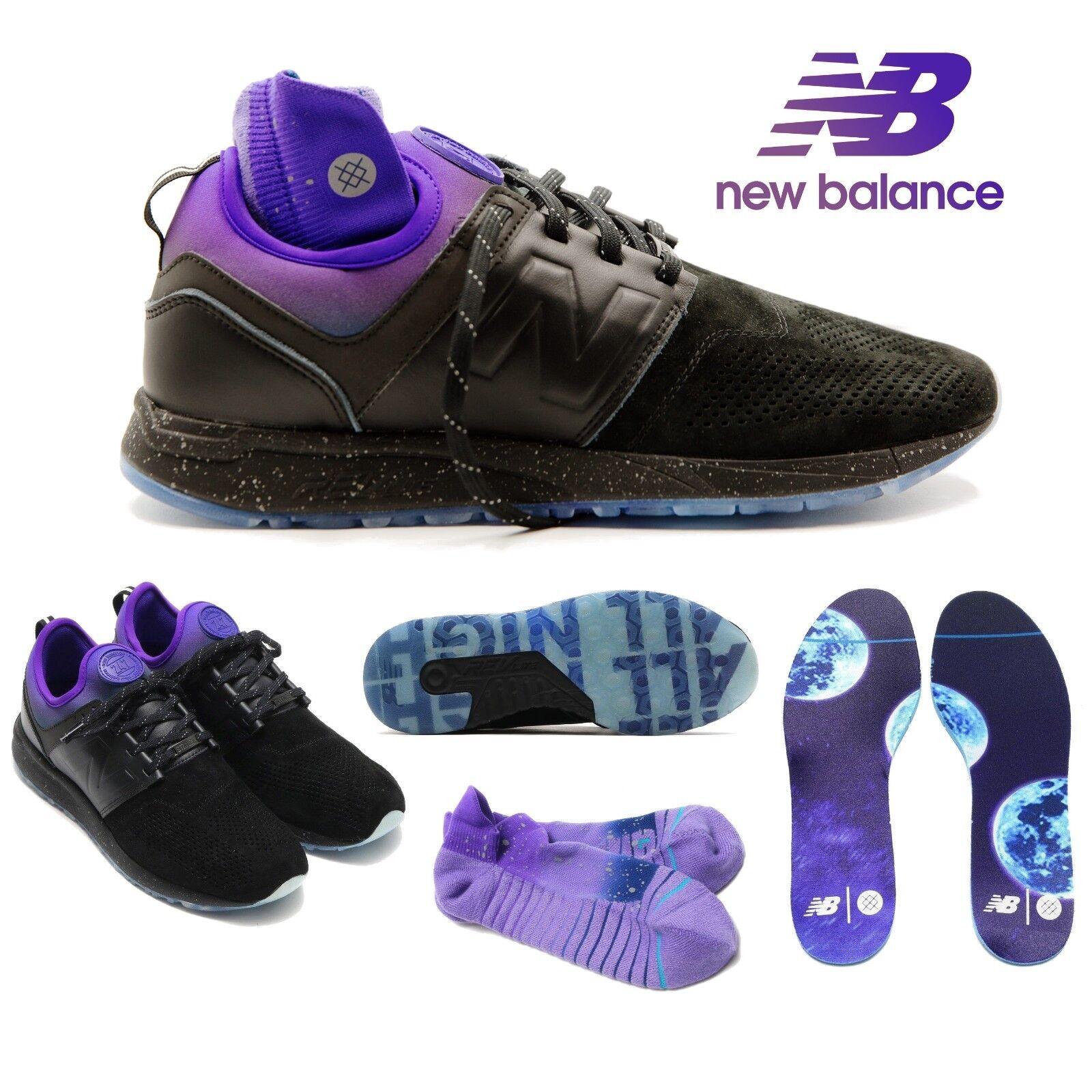 New Balance X Stance 247 Men's shoes All Night Black Socks MRL247ST  150 Limited