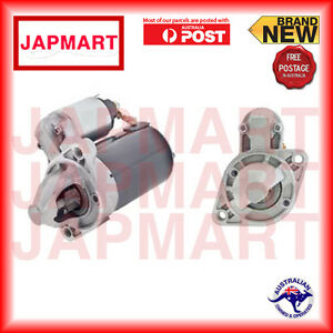 HYUNDAI-GETZ-MANUAL-TRANS-NEW-12V-8TH-RIO-G4ED-1-6-STARTER-MOTOR-Valeo-70-6239