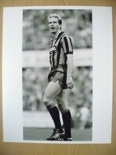 100% ORIGINAL PRESS PHOTO CARL HEINZ RUMMENIGGE, INTER MILAN & WEST GERMANY