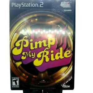 Pimp-My-Ride-Sony-PlayStation-2-Ps2-2006-Very-Good-Complete-Game-Case-And-Manual