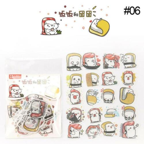 28Styles Animal Art Sticker Set Kawaii Anime Planner Stickers Stationery