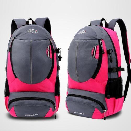 Women Men Outdoor Travel Hiking Backpack Shoulders Mountaineering Sports Bag