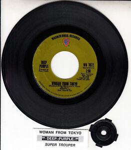 DEEP-PURPLE-Woman-From-Tokyo-7-034-45-vinyl-record-juke-box-title-strip-RARE