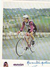SERGE PERIN AUTOGRAPHE cyclisme MERCIER MIKO ciclismo SIGNATURE Cycling radsport