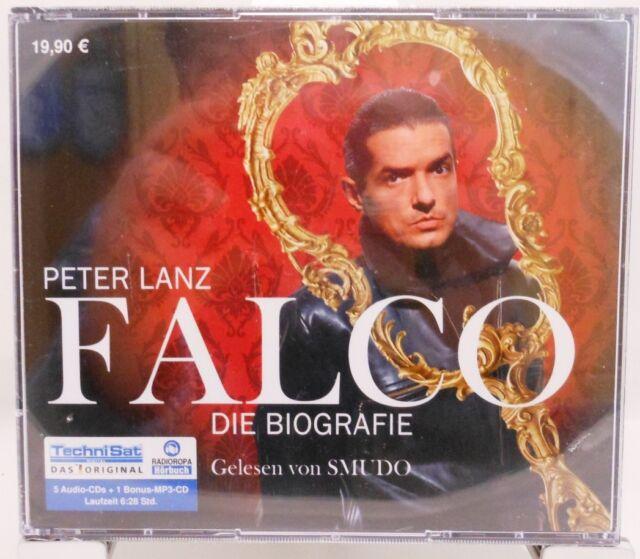 FALCO + Die Biografie auf 6 CDs (1 Bonus MP3) + 388 Minuten + Gelesen von SMUDO
