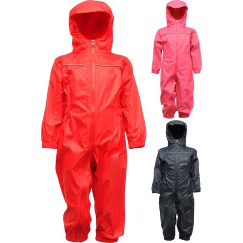 Kid Children Toddler Paddle Waterproof Windproof Rain Suit Jacket and Pant