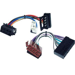 MERCEDES-DIN-ISO-RADIOANSCHLUSS-STECKER-RADIOADAPTER-KABEL-STECKER-PLUG-DINNORM