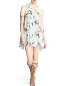 2559ff444279 NWT Free People Tree Swing Dress Floral Print Mint XS Top Tunic ...