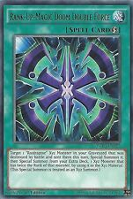 YU-GI-OH CARD: RANK-UP-MAGIC DOOM DOUBLE FORCE - RARE - WIRA-EN027 1ST EDITION