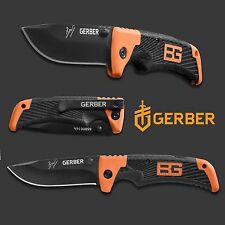 COLTELLO KNIFE GERBER BEAR GRYLLS SCOUT FOLDING BK SURVIVOR CACCIA SOPRAVVIVENZA