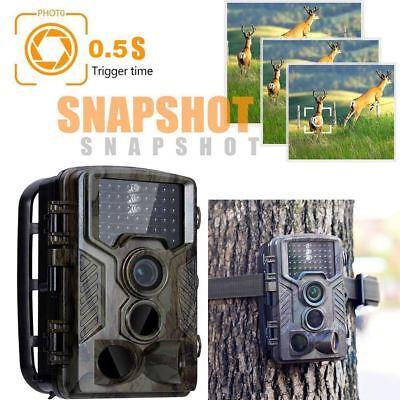 1080P 12MP HD Video Hunting Camera Night Vision IR Trail Cam New Trap Q3P7