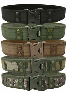 Men-Military-Belt-Tactical-Army-Hunting-Outdoor-Waistband-Nylon-Training-Belt