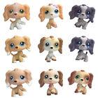 Littlest Pet Shop SPANIEL chien LPS Rare puppy Kids collection cute toy gift LOT