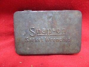 Snap On Tools Vintage Gray 1 4 Drive Socket Wrenches Tool Box Storage Tray Ebay