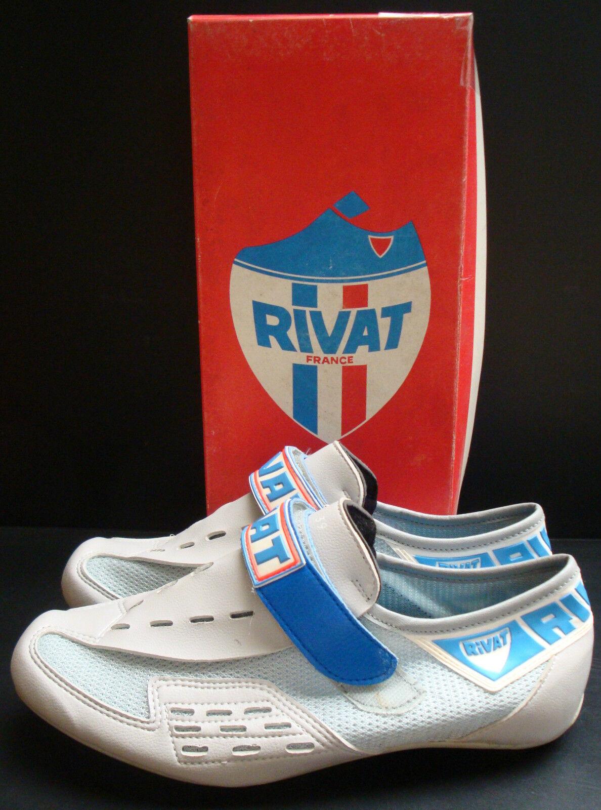 nuevo En Caja Rivat Zapatos Talla 39 6 Vintage Hecho En Francia, 6 39 0b32d4