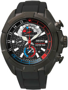 Seiko SPC149 Velatura Mens Watch Alarm Yachting Timer Chronograph RRP $950.00