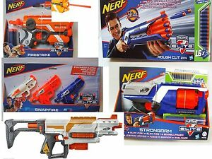 Nerf-N-Strike-Elite-Blaster-Firestrike-Rough-Strongarm-Snapfire-Darts-Glow-dark