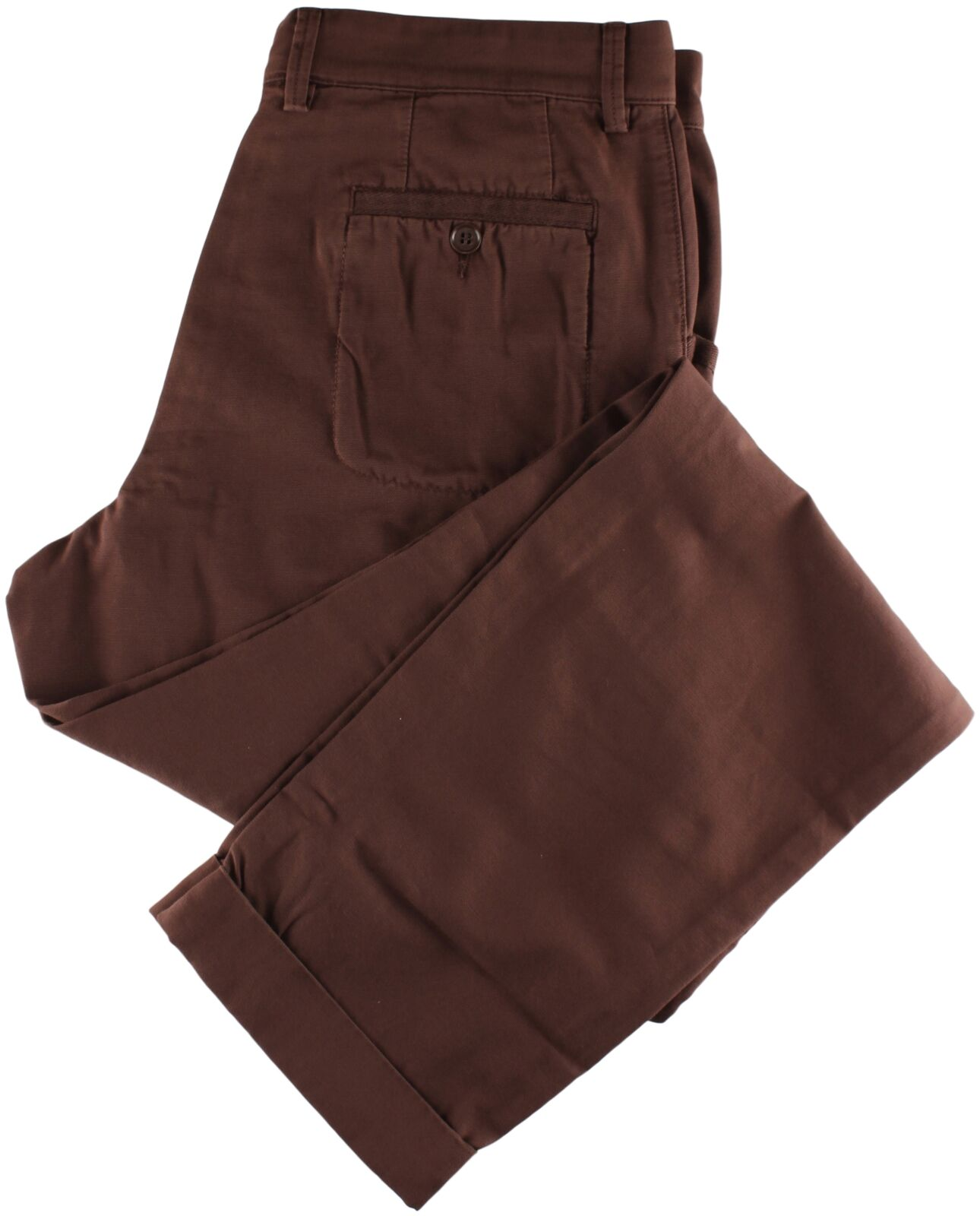 NWT EIDOS by ISAIA brown casual pants luxury  IT 48 US 32