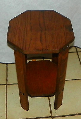 Mahogany Plant Stand PS156 Side Table