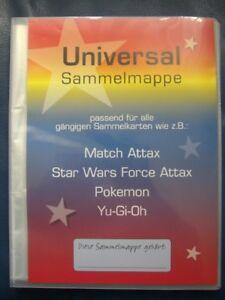 Sammelmappe-Leer-Star-Wars-Match-Attax-Force-Attax-Platz-fuer-216-Karten-Neutral