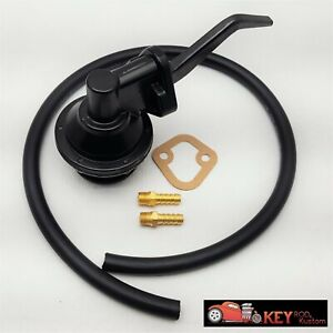 Small Block Ford Mechanical Fuel Pump 80GPH w// Fittings 260 289 302 351W SBF