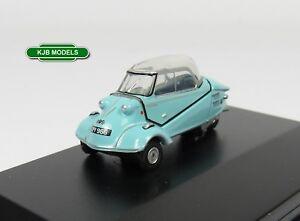 BNIB-OO-GAUGE-OXFORD-1-76-76MBC004-MESSERSCHMITT-KR200-BUBBLE-TOP-BLUE-CAR