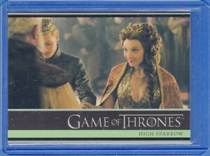2016 Rittenhouse Game of Thrones Season 5  Card #7 High Sparrow
