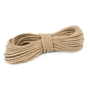 10mm-100-Natural-Pure-Jute-Rope-3-Strand-Braided-Twisted-Cord-Twine-Sash