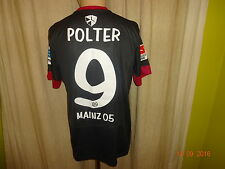 "FSV Mainz 05 Nike Spieler/Matchworn Trikot 2013/14 ""entega"" + Nr.9 Polter Gr.M"