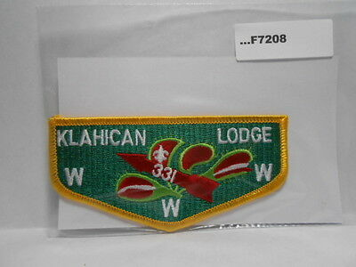 A10170 OA Lodge 331 Klahican S24b FLAP YLW BDR Brotherhood