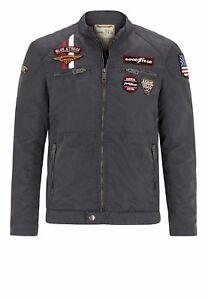 Goodyear Mouse Jacke Jacket Übergangsjacke Monahans Grey rqwrtIS