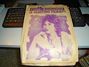 CINE-ROMANZO-anno-II-n-48-034-LE-QUATTRO-PIUME-con-FAY-WRAY-034-23-MARZO-1930